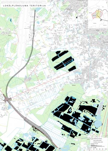 lokalplanojuma teritorija